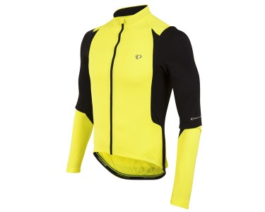 Pearl Izumi Pi Shirt Lange Mouw Select Pursuit Fluor Geel/zwa
