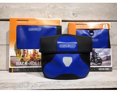 Ortlieb Tassenset Blauw Stuur-voor-achter