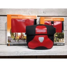 Ortlieb Tassenset Rood Stuur-voor-achter