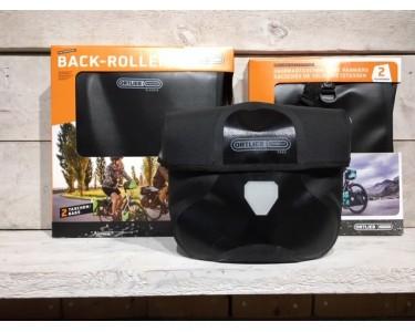 Ortlieb Tassenset Zwart Stuur-voor-achter