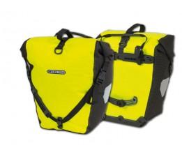Ortlieb Tas Backroller Hivis (paar) F5151 Geel Fluo/zwart