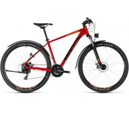 Cube Cube Aim Allroad Red/black , Red/black