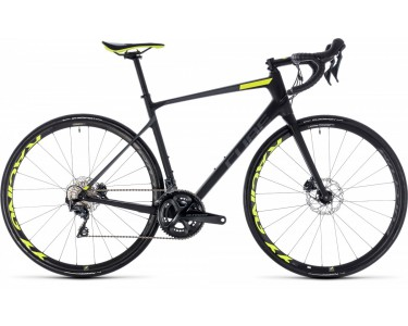 Cube Cube Attain Gtc Slt Disc Carbon/yellow, Carbon/flashyellow