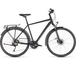 Cube 2019 Touring Exc Black Brown 2019