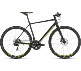 Cube Cube Sl Road Race Black/green 2019, Black/green