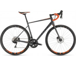 Cube Attain Sl Disc Grey/orange 2019, Grey/orange
