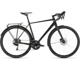 Cube Nuroad Race Fe Black/grey 2019, Black/grey
