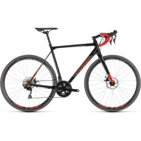 Cube Cross Race Black/red 2019, Black/red
