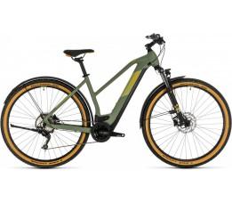 Cube Cross Hybrid Pro 625 Allr. Grn/ora 2020, Green/orange
