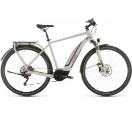 Cube Touring Hybrid Pro 400 Grey/red 2020, Grey/red