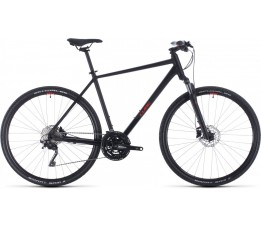 Cube Nature Exc Black/red 2020, Black/red