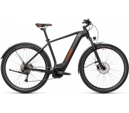 Cube Nature Hybrid One 500 Allroad Black/red 2021, Black/red