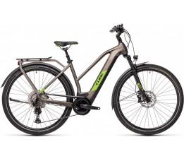 Cube Kathmandu Hybrid Exc 625 Teak/green 2021, Teak/green