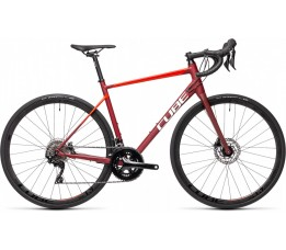 Cube Attain Sl Red/red 2021, Red/red
