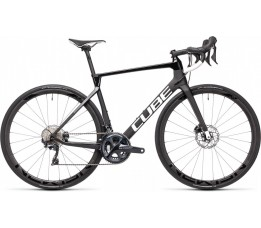 Cube Agree C:62 Race Carbon/white 2021, Carbon/white