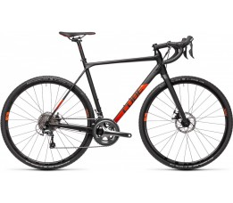 Cube Cross Race Black/red 2021, Black/red
