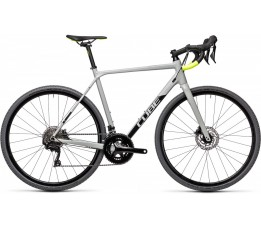 Cube Cross Race Pro Grey/flashyellow 2021, Grey/flashyellow