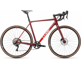 Cube Cross Race Sl Red/red 2021, Red/red