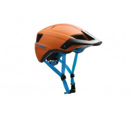 Cube Helmet Cmpt Orange/blue L (58-61)