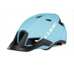 Cube Helmet Cmpt Iceblue/white S/m (53-57)