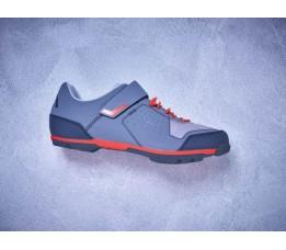 Cube Shoes Mtb Peak Grey/cherry Tomato Eu 42