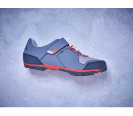 Cube Shoes Mtb Peak Grey/cherry Tomato Eu 44