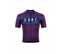 Cube Blackline Jersey S/s Blue/pink Xxl