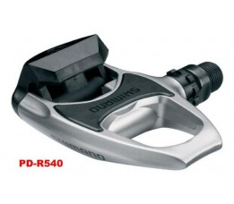 Shimano Pedaal Spd-sl Pdr540 M/plaatjes Sm-sh11 Zilver