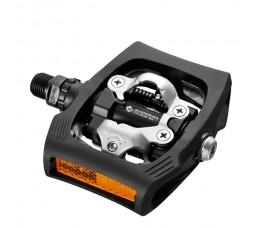 Shimano Pedaal Click'r T400 M/plaatjes Sm-sh56 Zwart