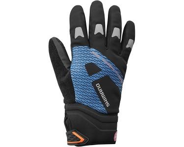 Shimano Shimano Handschoenen Windst. Blauw S (r) Refl.