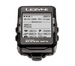 Lezyne Super Gps Black