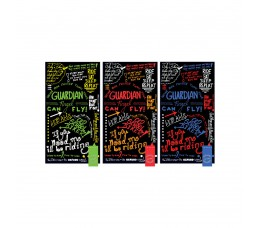Oxc Nekwarmer Comfy Graffiti Multi Mix 3 Stuks