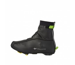 Sealskinz Ss Lightweight Open Sole Overshoe-black/green-l