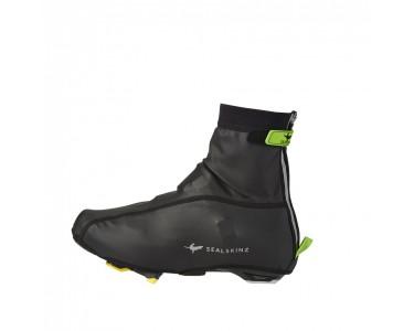 Sealskinz Ss Lightweight Open Sole Overshoe-black/green-l