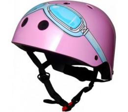 Kiddimoto Helm Pink Goggl E Small Array