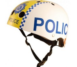 Kiddimoto Helm Police Medium Array