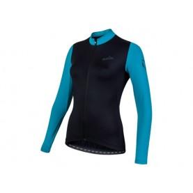Nalini Nalini Shirt Lm Aiw Lw Lady 2.0 Zwart/ Azur S