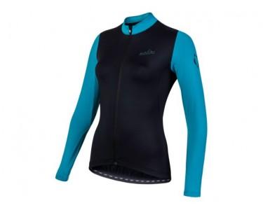 Nalini Nalini Shirt Lm Aiw Lw Lady 2.0 Zwart/ Azur L