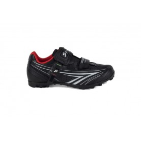 Spiuk Shoes Risko Mtb Unisex Black/silver 43