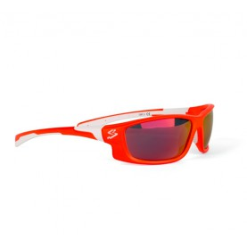 Spiuk Glasses Spicy Ora/white Mirror Red Polarized