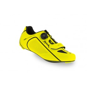 Spiuk Shoes Altube Road Carbon Yellow Hv/black 41