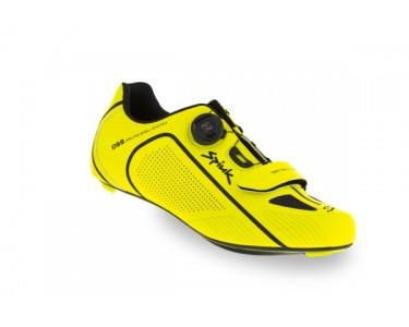 Spiuk Shoes Altube Road Carbon Yellow Hv/black 41