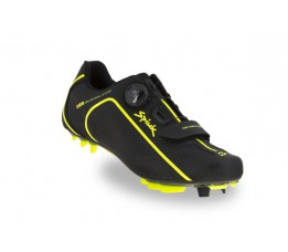 Spiuk Shoes Altube Mtb Carbon Black/yellow Hv 42