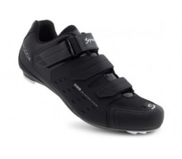 Spiuk Shoes Rodda Road 3 Velcros Matt Black 42