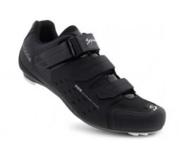 Spiuk Shoes Rodda Road 3 Velcros Matt Black 46