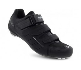 Spiuk Shoes Rodda Road 3 Velcros Matt Black 49