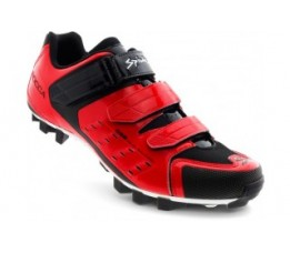 Spiuk Shoes Rocca Mtb 3 Velcros Red 44