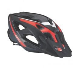 Bbb Helm Elbrus L Zwart/rood