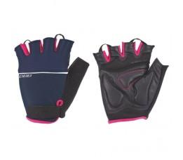 Bbb Bbw-47 Handschoenen Omnium L Marine Blauw/roze