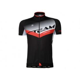 Agu Shirt Km Meano Zwart/rood S